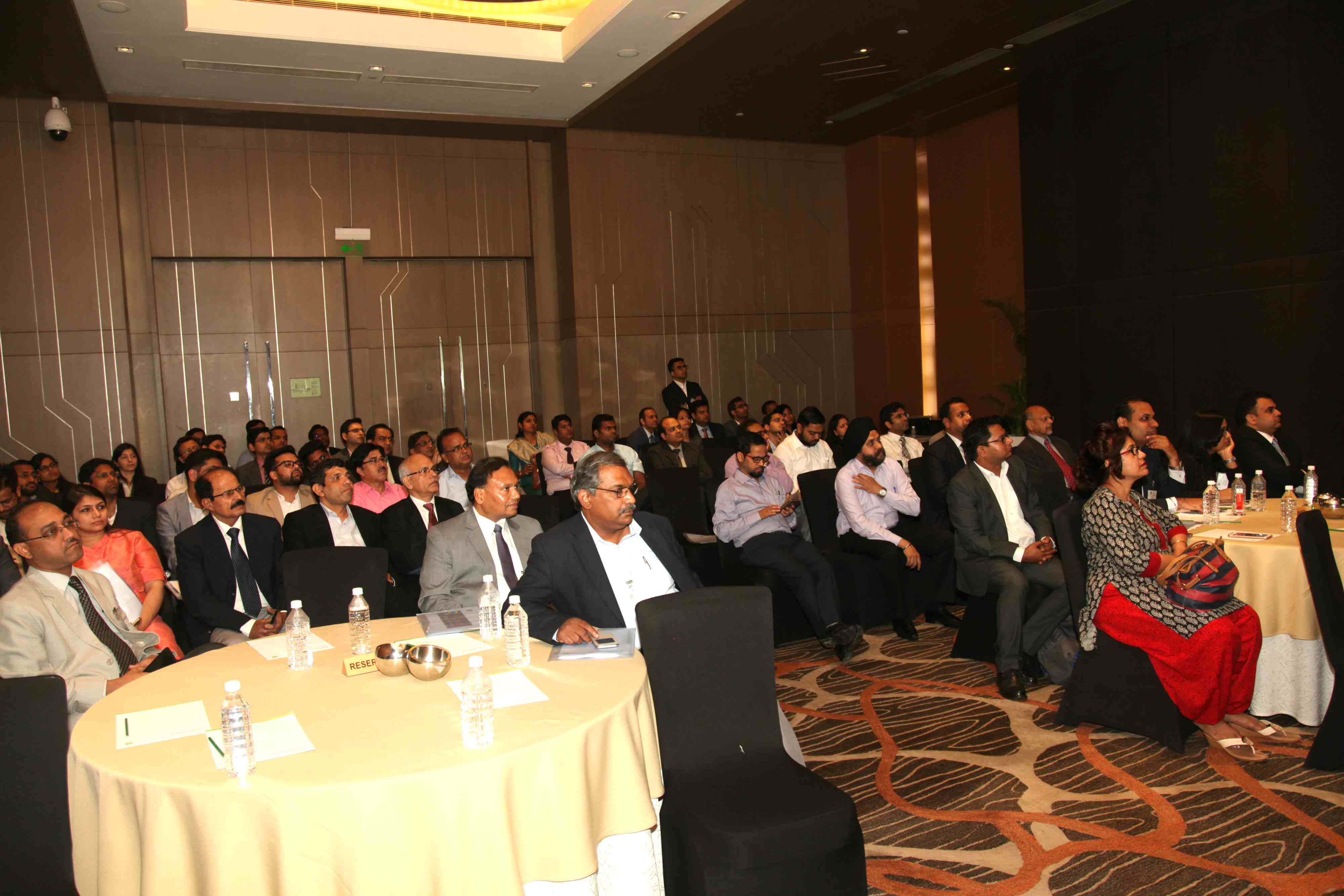 Audience at the Conference on Road Infrastructure and Logistics sector