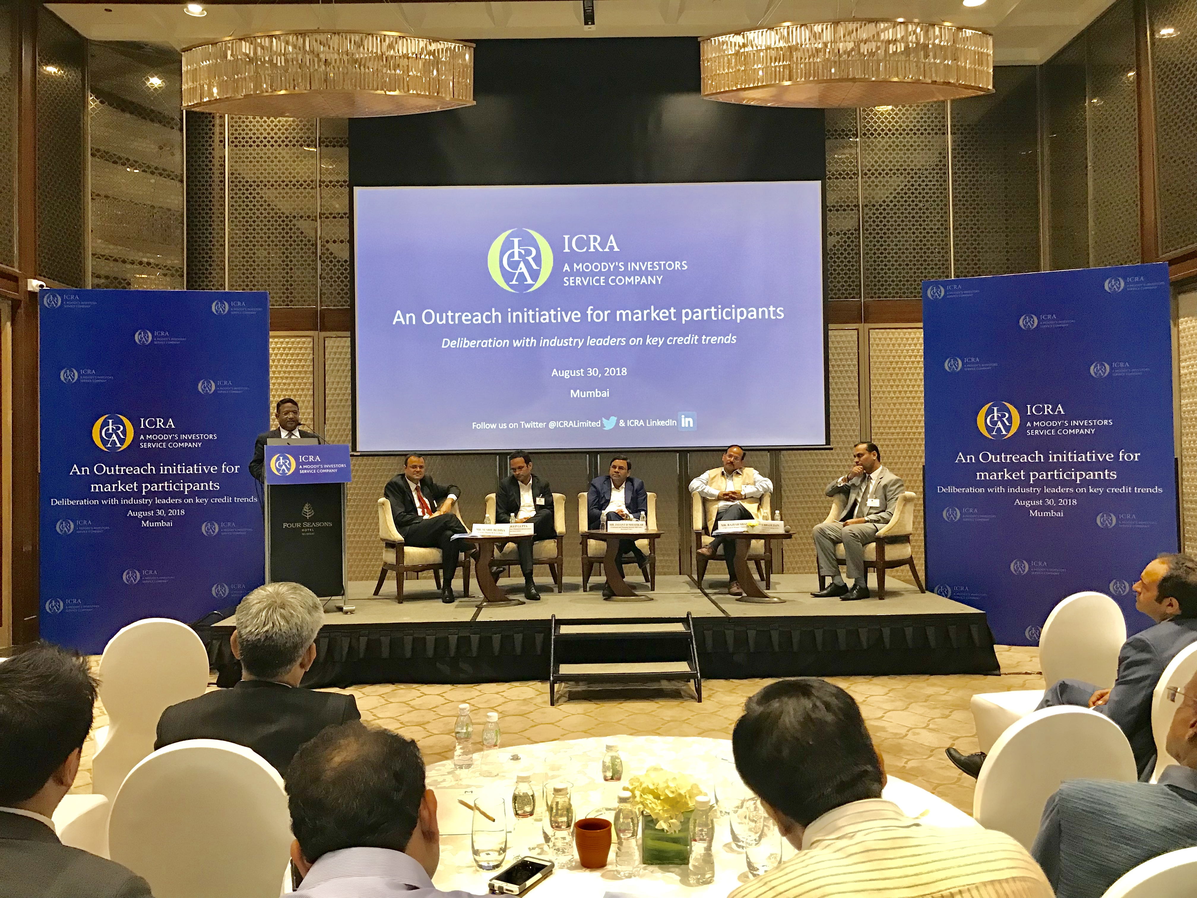 Closing remarks by Mr. L Shivakumar, Executive Vice-President & Head Institutional Corporate Group, ICRA.