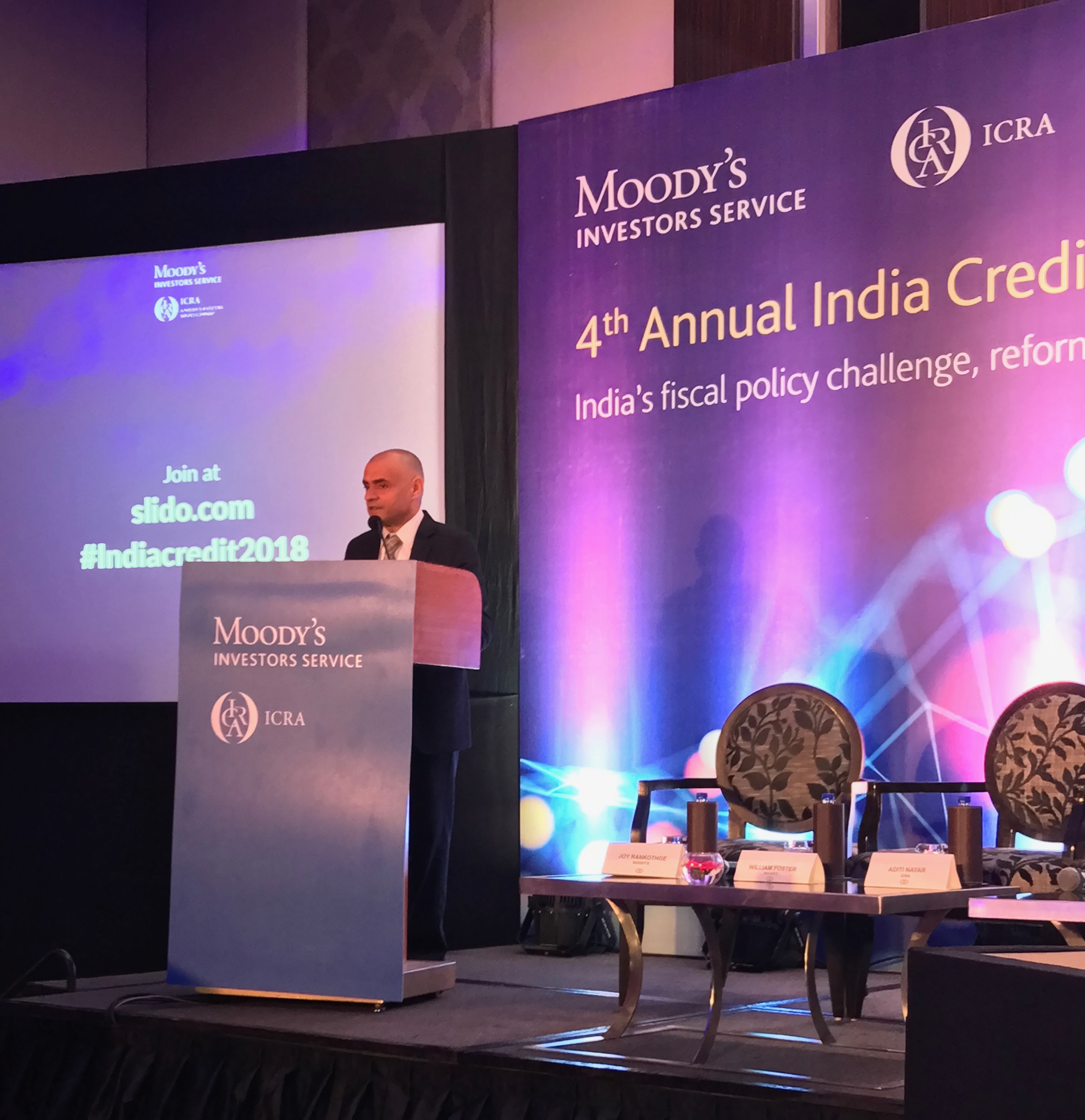 Keynote speech by Mr.Naresh Takkar, MD & Group CEO, ICRA Ltd at Moody's ICRA 4th Annual India Credit Conference in Mumbai.