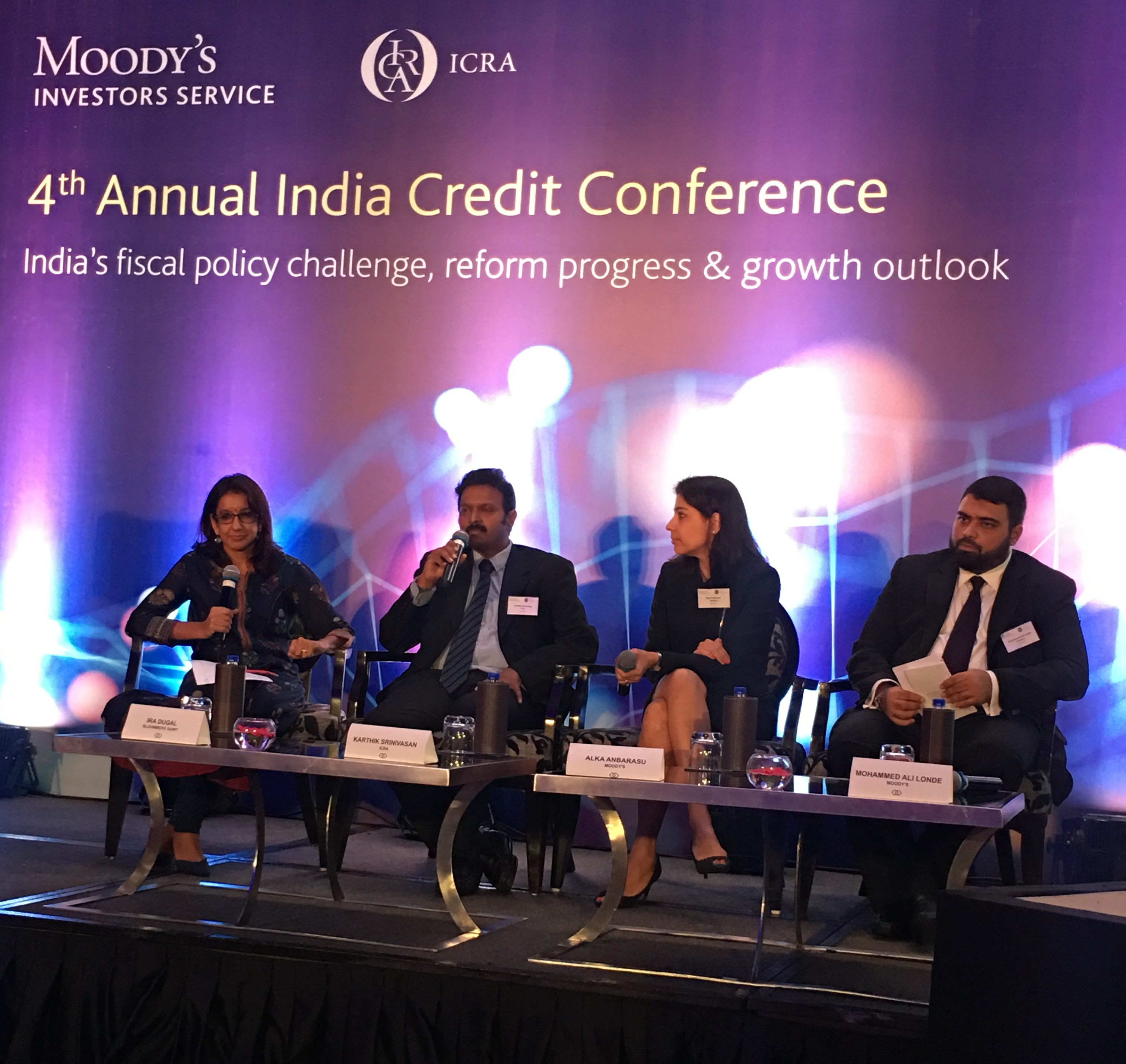 Karthik Srinivasan, Group Head, Financial Sector Ratings, ICRA shares his views in a panel discussion on India's financial institutions: What are the reforms and resolutions needed now that recapitalization is underway? at Moody's ICRA 4th Annual India Credit Conference in Mumbai.