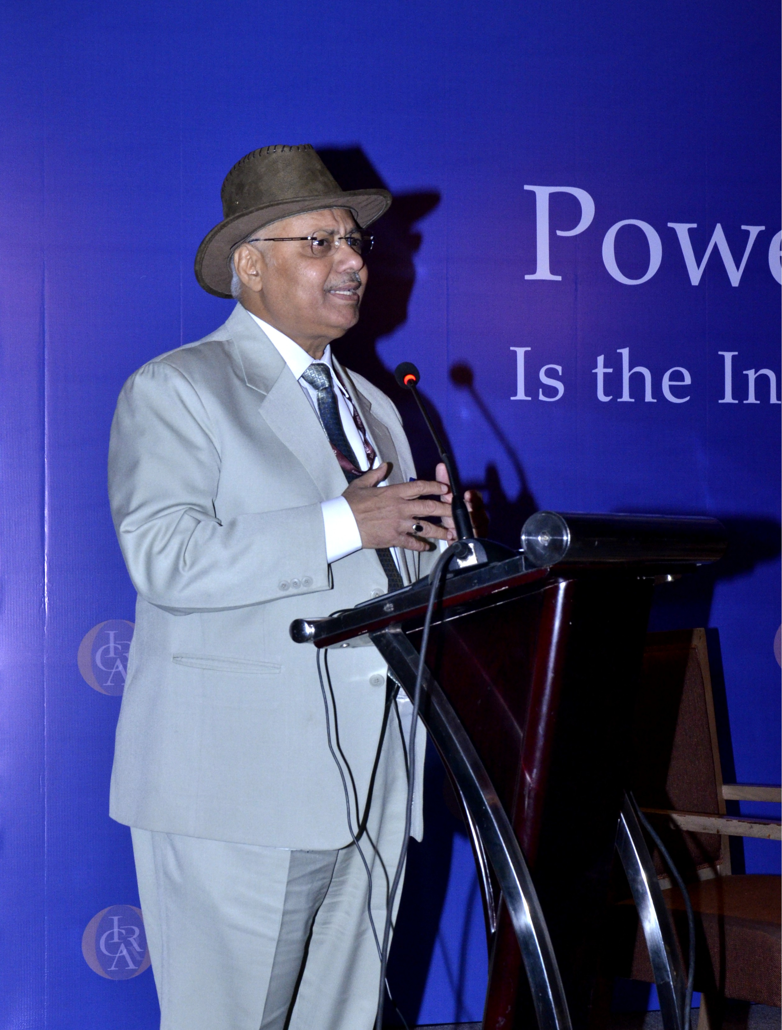 Dr. A. K. Verma, Joint Secretary, Ministry of Power delivering keynote speech at the Conference