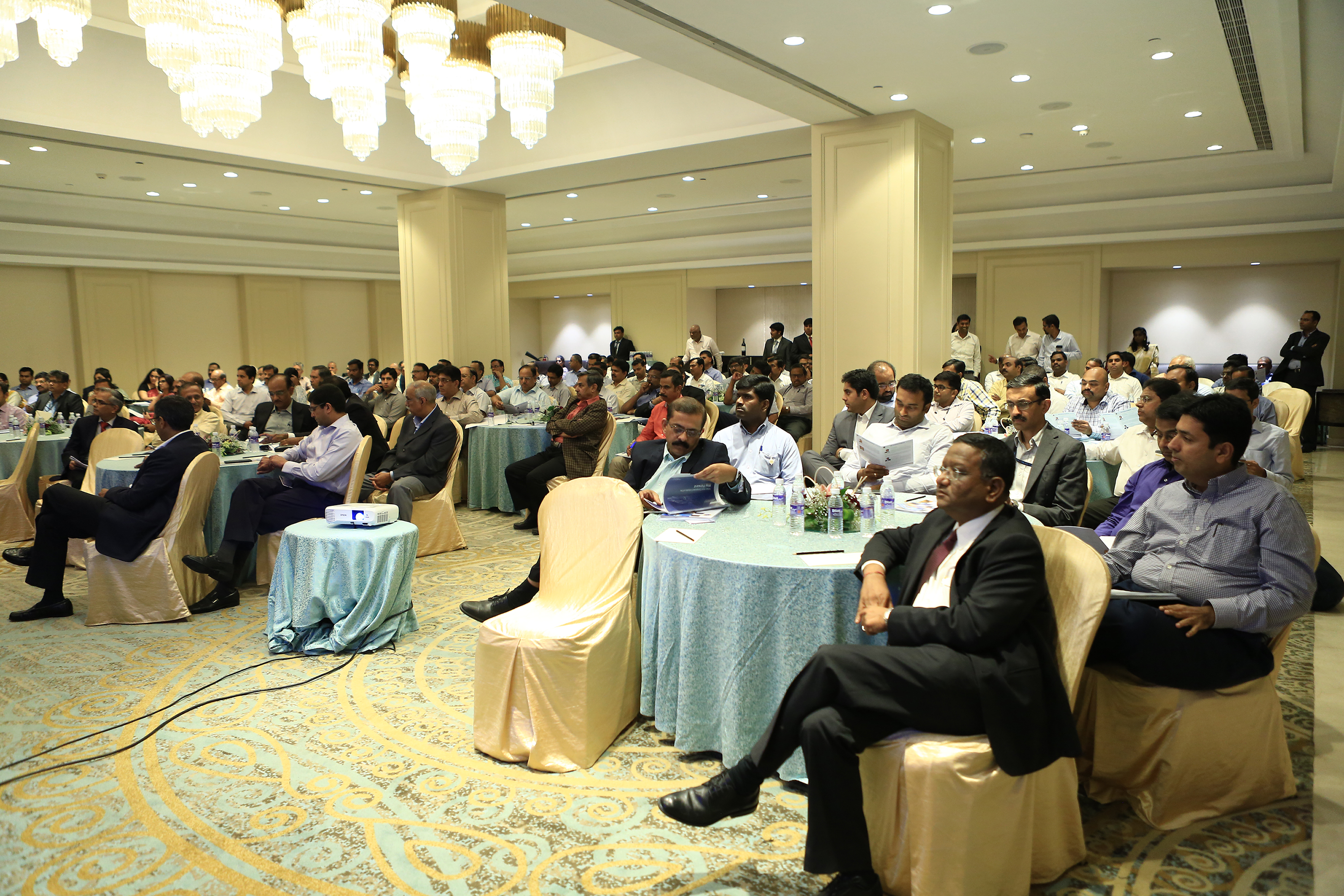Audience at the conference on Indian Auto Component Industry