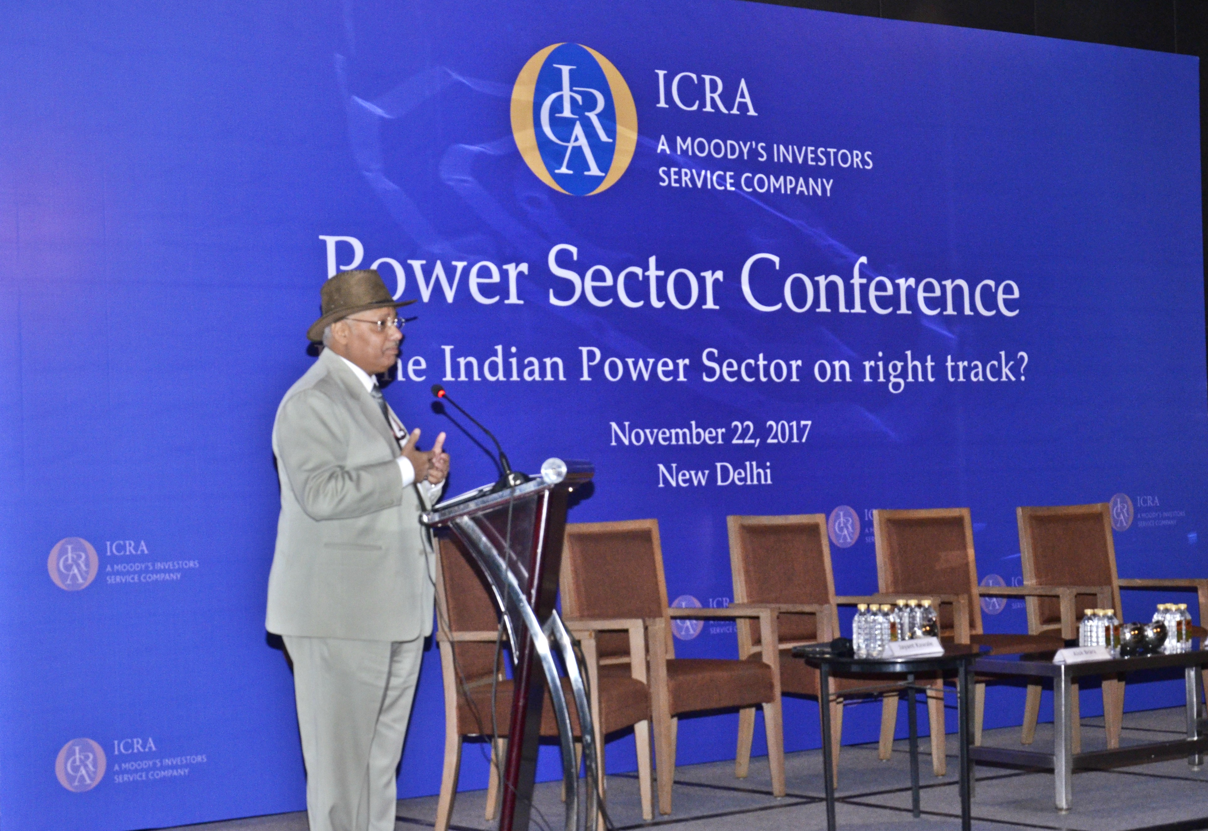 Dr. A.K. Verma, Joint Secretary, Ministry of Power sharing his experience on distribution reforms and schemes in Power sector