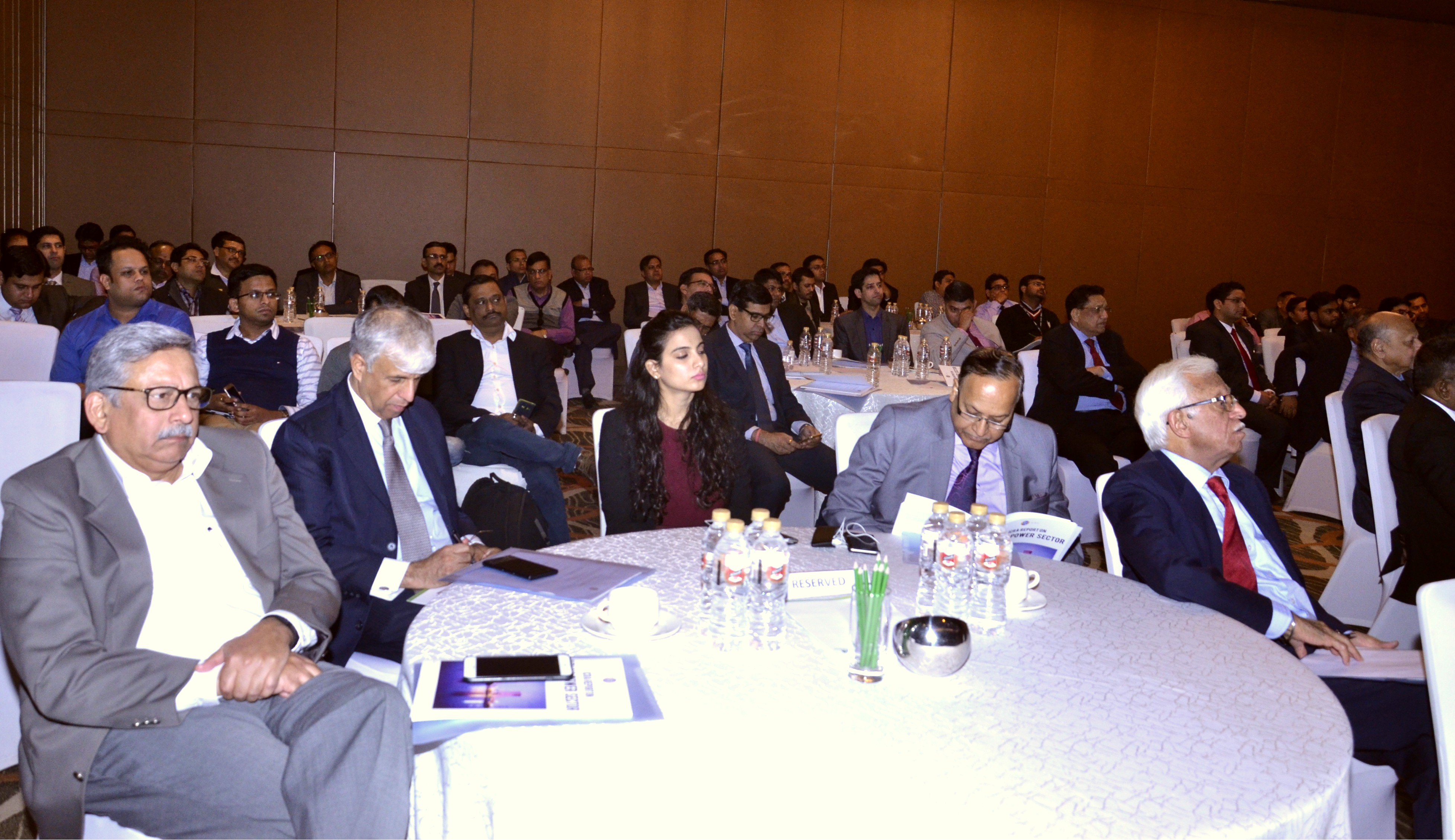 Audience along with the Panellists listening to the Keynote Speech by Dr. A.K. Verma