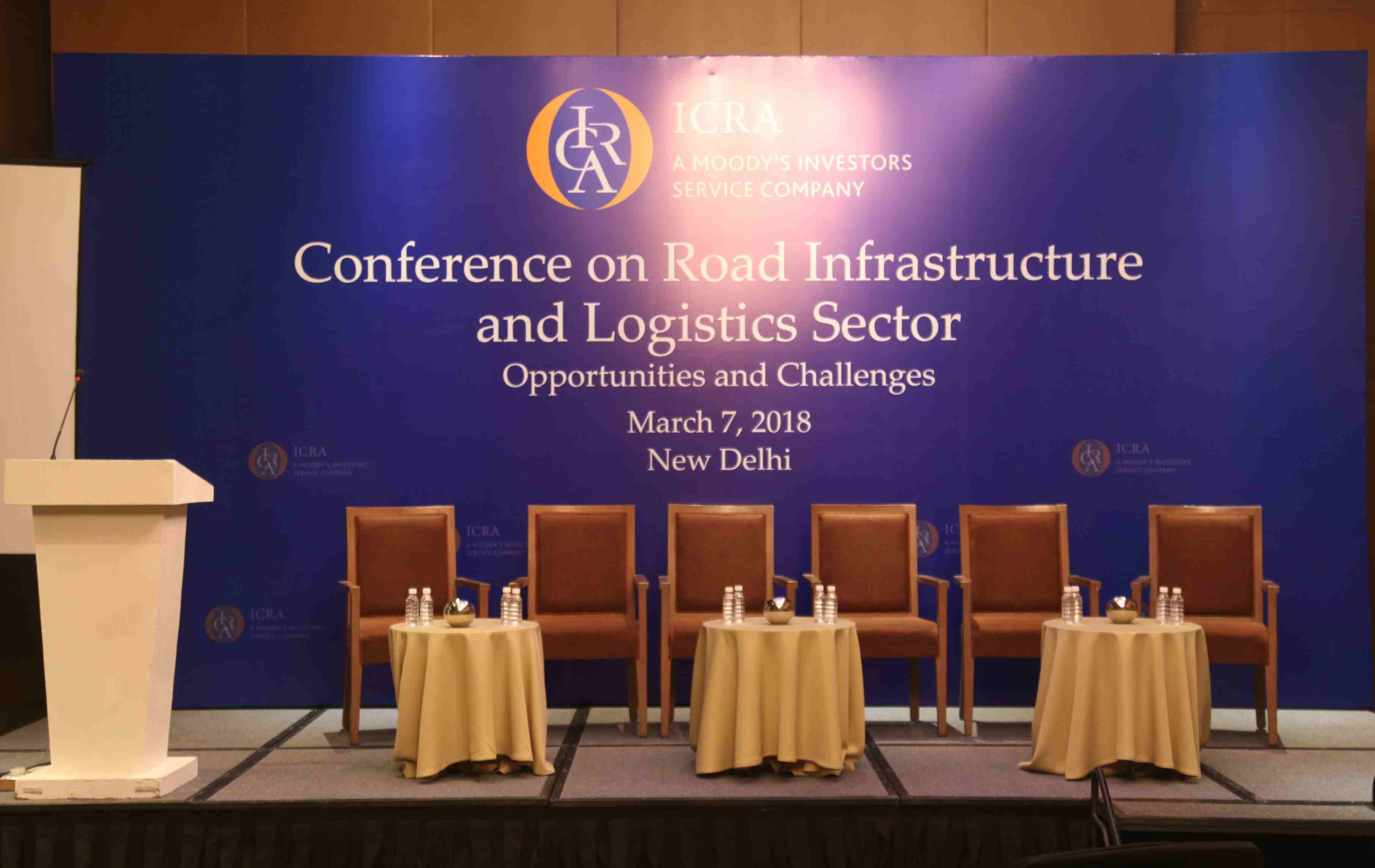 Stage all set for ICRA Conference on Road Infrastructure and Logistics sector in New Delhi