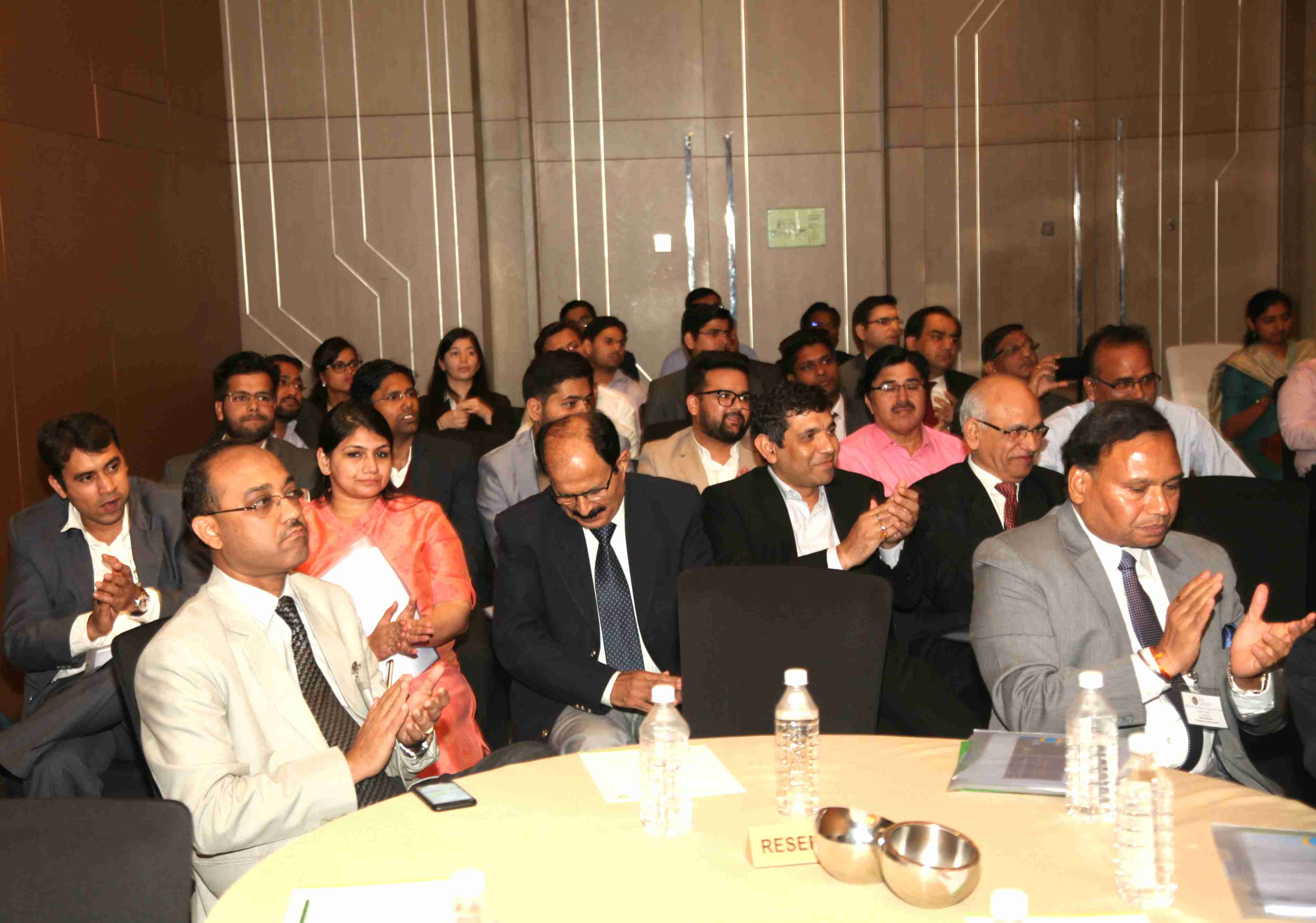 Audience during the session on Indian Logistics sector